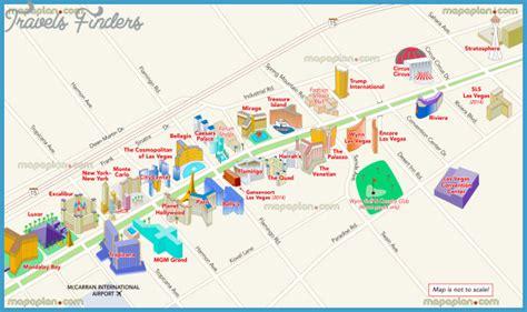 Las vegas map, official site las vegas strip map jpg 615x365